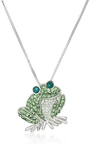 Sterling Swarovski Elements Pendant Necklace