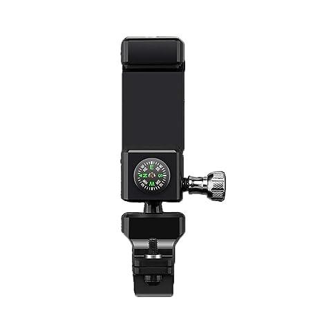 Soporte Movil Moto Soporte GPS Moto Accesorios Universal y 360 Rotación Compatible con 3,5