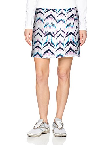 - Cutter & Buck Women's Moisture Wicking 50+ UPF Pull on Stretch Skort with Lining, Multi, Large