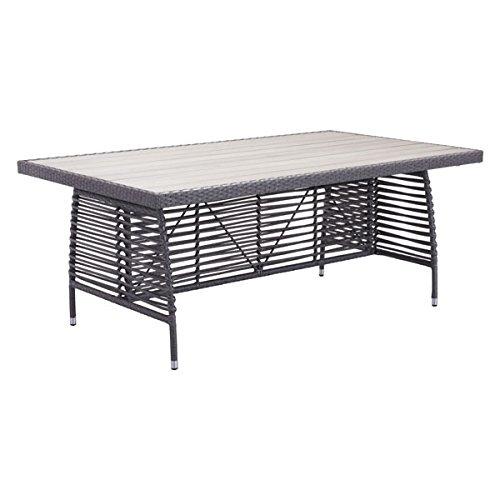 (Zuo Sandbanks Dining Table, Gray)