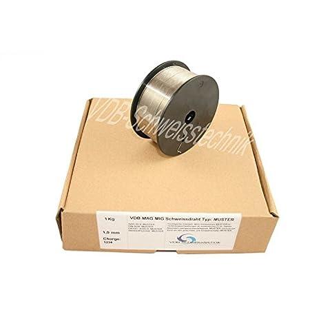 5 kg GYS Massivdrahtrolle Edelstahl 316LSi Durchmesser 0,8 mm Durchmesser 200 mm