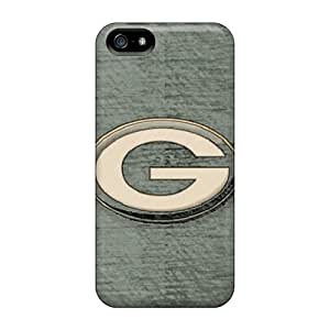 Ultra Slim Fit Hard Kevor Case Cover Specially Made For Iphone 5/5s- Green Bay Sketch