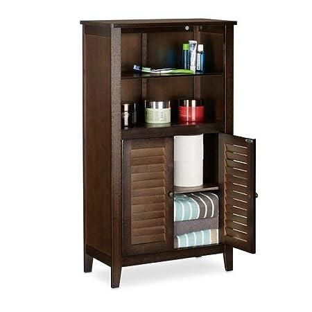 Brown Home Furniture Freestanding Design 50 x 92cm Bathroom Storage Cabinet Material: Wood