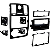 Metra 99-6516B Single/Double DIN Mounting Kit with OEM Bezel for 2005-07 Chrysler 300 Vehicles