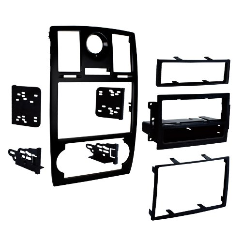 metra-99-6516b-single-double-din-mounting-kit-with-oem-bezel-for-2005-07-chrysler-300-vehicles