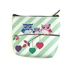 TAOtTAO Owl Purse para Mujer Mode Fácil Retro Owl Printing ...