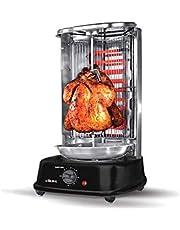 Electric Shawarma Maker Vertical Grill - Black, Ck4305
