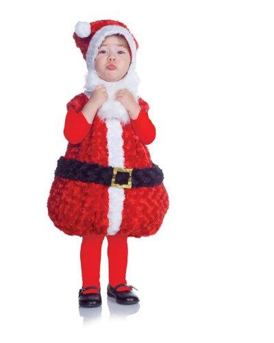 Underwraps Santa Costume (Underwraps Baby Santa Costume, Red/White/Black, Large)
