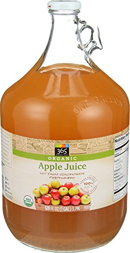 365 Everyday Value, Organic Apple Juice, 128 FL oz