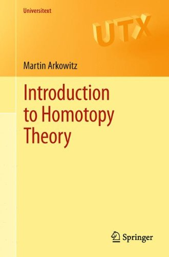 Pdf Math Introduction to Homotopy Theory (Universitext)