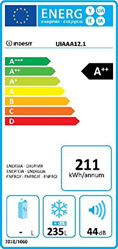 Indesit UIAA 12.1 - Congelador Vertical Uiaa12.1 Con 7 ...