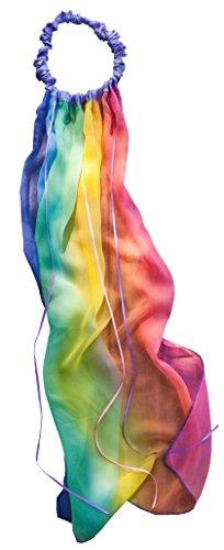 [Sarah's Silks * Silk Rainbow Veil] (Princess Bride Halloween Costumes)