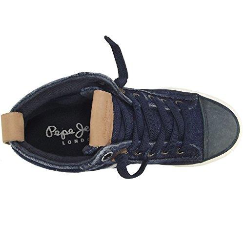 37 Baskets Pepe Denim Denim Jr enfant foncé Boot Jeans Mode Bleu Serthi Mixte xOqrO67X