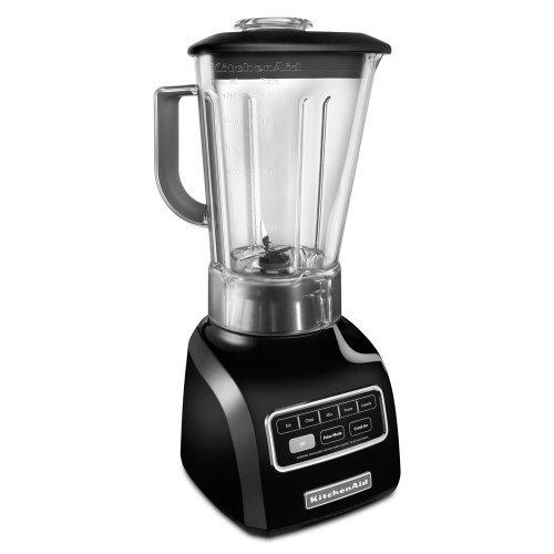 KitchenAid 5-Speed blender ksb650ob 650 Series .9HP motor Stir, Chop, Mix, Puree, and Liquefy BPA-Free Shatter-Resistant Jar Onyx Black