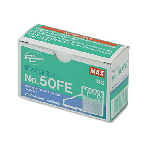 MXB50FE - Max USA Corp Staple Cartridge for EH-50F Flat-Clinch Electric Stapler