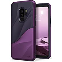 Galaxy S9 Plus Case Ringke [WAVE] [Metallic Purple] Dual Layer Heavy Duty 3D Textured Shock Absorbent PC TPU Full Body Drop Resistant Protection Modern Design Cover for Samsung Galaxy S9 Plus 2018