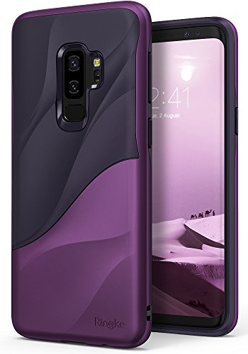 Galaxy S9 Plus Case Ringke [WAVE] [Metallic Purple] Dual Layer Heavy Duty...
