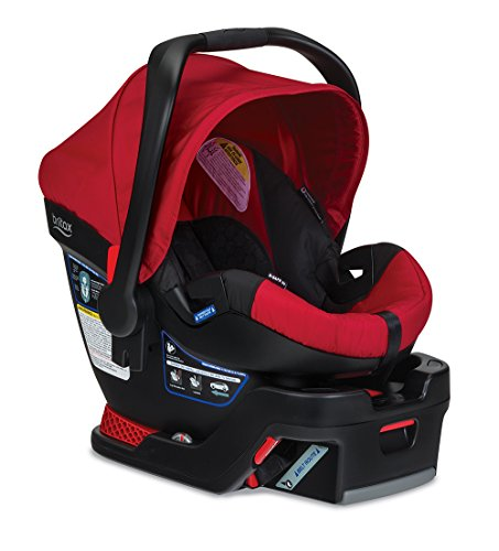 Britax Stroller Travel System Red - 5
