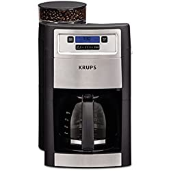 KRUPS KM785D50 Grind & Brew Automatic Coffee Maker, Black