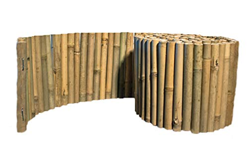 Bamboo Garden Border Edging Even Style Sold in 10 Foot Sections by Bamboo
