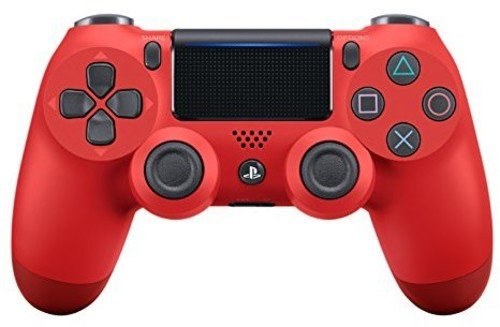 يد بلايستيشن 4 DualShock 4 Wireless Controller for PlayStation 4 - Magma Red