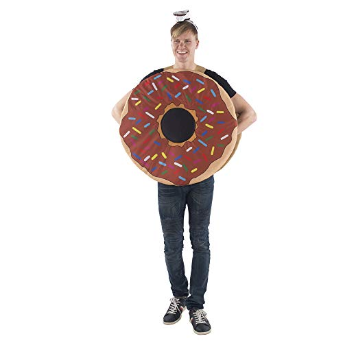 Dress Up America Sprinkle Doughnut Costume for Adults - One Size -