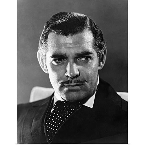GREATBIGCANVAS Poster Print Entitled Clark Gable (1901-1960)