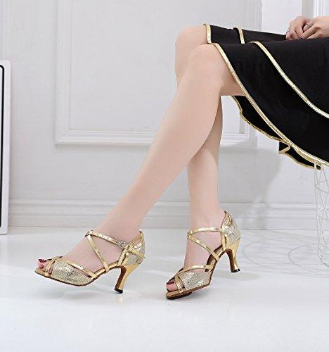Contempóraneo Jazz MGM Gold Mujer Heel Y 7 5cm Joymod wBqAqtF