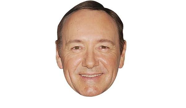 Kevin Spacey Máscaras de personajes famosos, caras de carton: Amazon.es: Juguetes y juegos