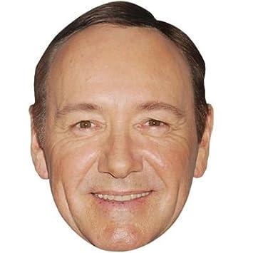 Kevin Spacey Máscaras de personajes famosos, caras de carton