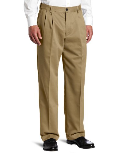 Dockers Men's Comfort Waist Khaki D3 Classic Fit Pleated-Cuffed Pant