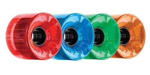 OJ Wheels III Hot Juice 78A 60mm Candy Trans Combo Ruedas de skateboard (juego de 4)
