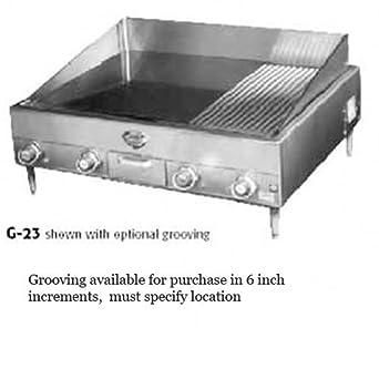 Amazon.com: Plancha de Wells G-23 Countertop eléctrico 34 x ...