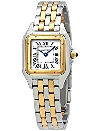 Cartier Panthere de Cartier Ladies Two-Tone Stainless Steel and 18K Yellow Gold Watch W2PN0006