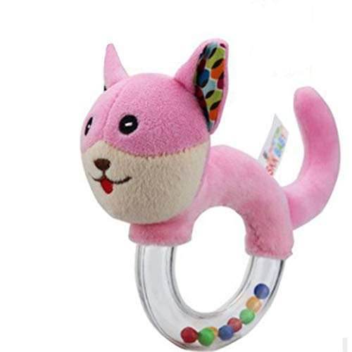 Yonger Soft Toy Cute Rattle Animal Cat Doll Children Doll Plush Shake Bell Gift Toy