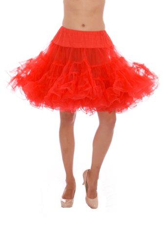 The Lindy Hop Costumes (Dance Petticoat Pettiskirt Underskirt Tutu Crinoline by Malco Modes Red)