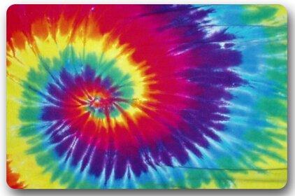 Mandala Tie Dye Door Mat product image