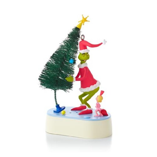 Why Are You Stealing Our Christmas Tree? - Dr. Seuss 2013 Hallmark Ornament ()