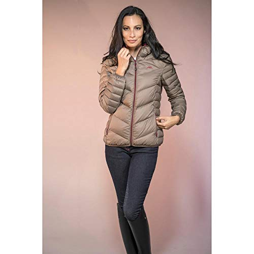 Jacket Ladies Down Equiline Walnut Maudy aP4qKcO
