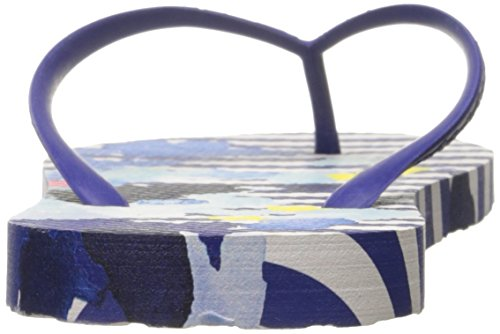 Tom Joule Damen Sandy Zehentrenner Mehrfarbig (Multi Floral Stripe)
