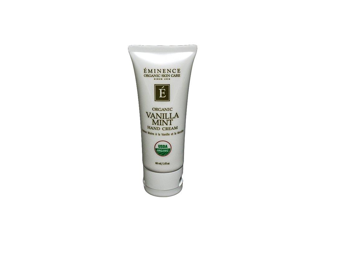 Eminence Organic SkinCare Hand Cream, Vanilla Mint, 2 Ounce