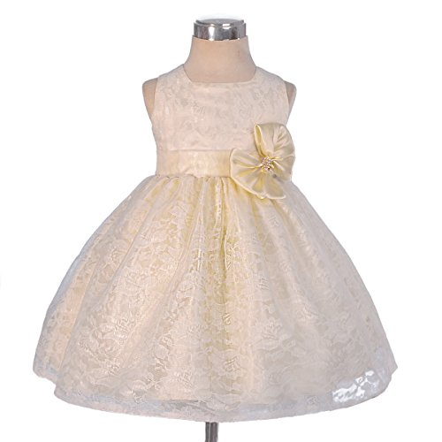 ivory 2t flower girl dress - 7