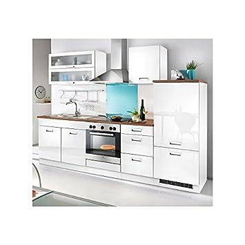 Held möbel küchenzeile fulda inkl elektrogeräte breite 270 cm weiß made