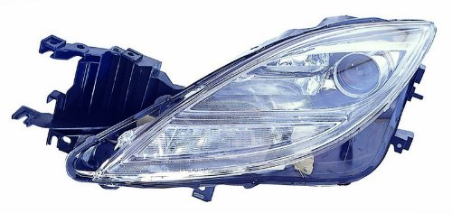 6 Headlight Assembly (Mazda 6 09-10 Headlight Assembly Halogen Type Lh US Driver Side)