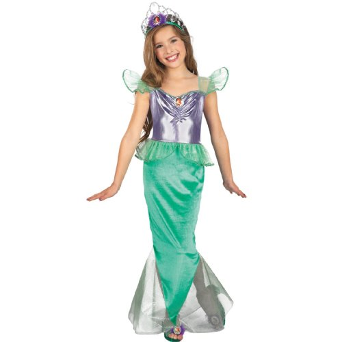 Girls Classic Ariel Costume - Medium (Girl Ariel Costume)
