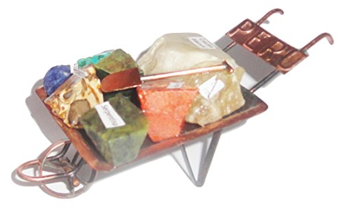 Minerals from Peru Mine Cart Souvenir Peruvian Stones