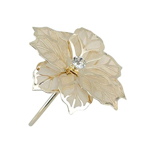 TOYMYTOY Napkin Rings,Exquisite Hotel Restaurant Flower Napkin Ring