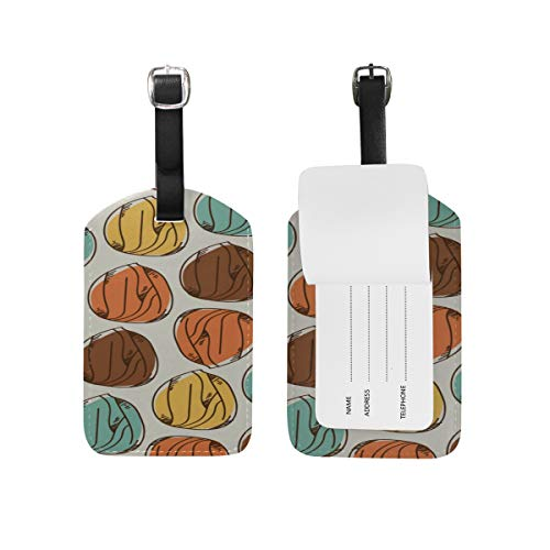 Id Labels Business Suitcase Luggage Tag Almond Dried Fruit Casual Snack Ideas