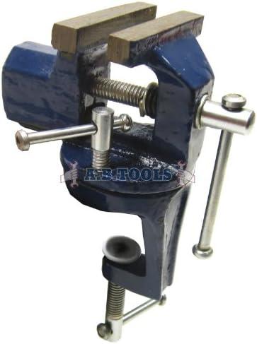 [해외]Toolzone 60mm (2-12) Clamp-on Vice Swivel Base / Toolzone 60mm (2-12) Clamp-on Vice Swivel Base