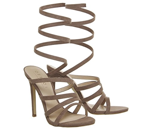 Office Hundred Heel Nude Sandals Strappy vvxrz8fOg